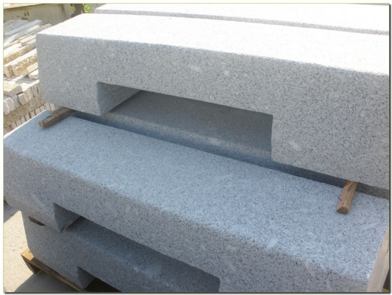 granite kerbs with channel